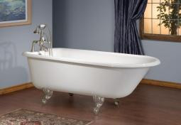 Cheviot 2100w Traditional 61 Cast Iron Freestanding Clawfoot Tub