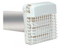 Dundas Jafine BPGH4WZW ProGard Dryer Vent Exhaust Hood With Pest Guard