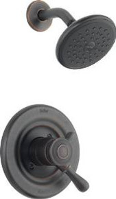Delta T17278-RB Leland Monitor 17 Series Shower Faucet Trim - Venetian Bronze