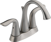 Delta 2538LF-SS Lahara Two Handle Centerset Lavatory Faucet - Stainless