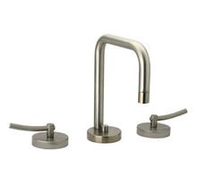 Whitehaus WH81214L Metrohaus Two Handle Widespread Lavatory Faucet & Pop-up Drain - Chrome