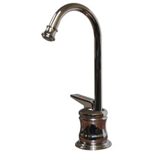 Whitehaus WHFH3-H65 Forever Hot Kitchen Instant Hot Water Dispenser Faucet - Self Closing Handle - Chrome