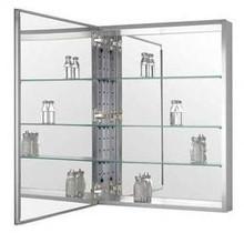 "Zenith MRA2026 20"" W x 26"" H Premium Frameless Swing Door Medicine Cabinet with Beveled Mirror"