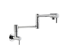Price Pfister GT533-PFC Lita Wall Mount Pot Filler Kitchen Faucet - Chrome