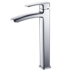 Fresca FFT9162CH Single Hole Vessel Mount Bathroom Vanity Faucet - Chrome