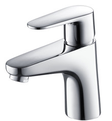 Fresca FFT3811CH Single Hole Mount Bathroom Vanity Faucet - Chrome