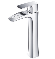 Fresca FFT3072CH Single Hole Vessel Mount Bathroom Vanity Faucet - Chrome