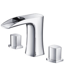 Fresca FFT3076CH Widespread Mount Bathroom Vanity Faucet - Chrome