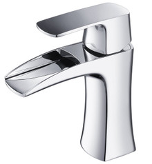 Fresca FFT3071CH Single Hole Mount Bathroom Vanity Faucet - Chrome