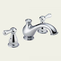 Delta Leland T5778-LHP Two Handle Roman Tub Faucet -  Chrome