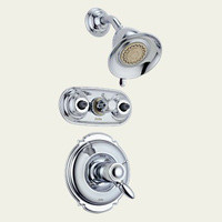 Delta T18T255 Single Handle Jetted Shower Faucet -  Chrome