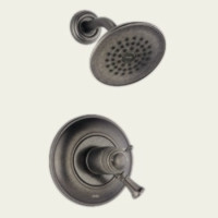 Delta T17T240-PT Single Handle Thermostatic Shower Faucet -  Aged Pewter