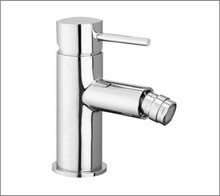 Aquabrass 61024BN Single Handle Lavatory Faucet With Swivel Spray - Straight Lever Handles - Brushed Nickel