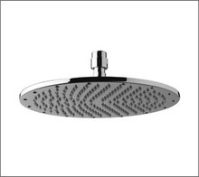 Aquabrass 2412BN 12'' Round Rain Head Showerhead - Brushed Nickel