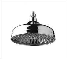 Aquabrass 2508BN 8'' Round Rain Head Showerhead - Brushed Nickel