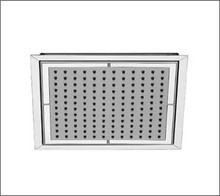 Aquabrass 801 8'' X 8'' Ceiling Mount Recessed Shower Tile Showerhead - Chrome