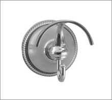 Aquabrass 508BN Robe Hook - Brushed Nickel