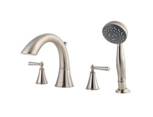 Price Pfister LG6-4GLK Two Handle Roman Tub Faucet With Handshower Trim Kit - Brushed Nickel