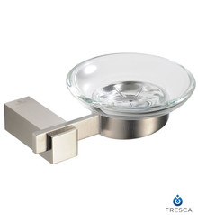 Fresca Ellite FAC1403BN Soap Dish - Brushed Nickel