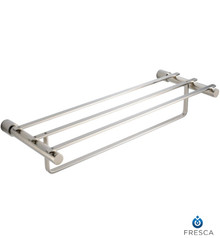 "Fresca Magnifico FAC0142BN 23"" Towel Rack - Brushed Nickel"