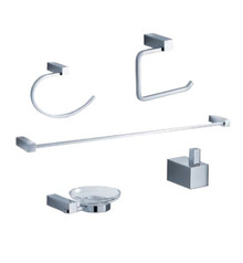 Fresca Ottimo FAC0400 5-Piece Bathroom Accessory Set - Chrome