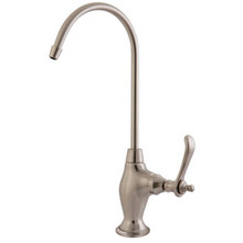 Kingston Brass Water Filtration Filtering Faucet - Satin Nickel KS3198TL