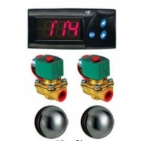 Mr. Steam CU2-D1 Commerical Steamroom Digital Temperature Control Package Above CU2000