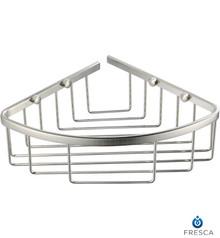 Fresca FAC1002 Corner Soap / Sponge / Shampoo Wire Basket  - Chrome