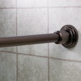 Gatco 820 Marina Shower Rod Shower Curtain Rod Set - Oil Rubbed Bronze