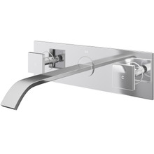 Vigo VG05002CH Two Handle Wall Mount Lavatory Faucet - Chrome