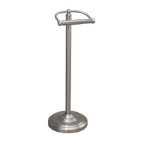 Gatco GC1436SN Free Standing Tissue Paper Holder - Satin Nickel