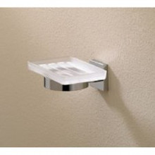 Valsan Braga 67685CR Wall Mount Soap Dish - Chrome