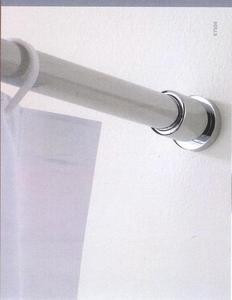 Polished Nickel Shower Rod.Valsan Porto 67504ni Shower Curtain Rod Brackets Pair Polished Nickel
