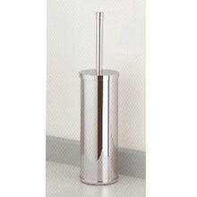Valsan Cubis Plus 66498CR Freestanding Toilet Brush Holder - Chrome