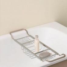 Valsan Essentials 53413ES Adjustable Bathtub Caddy - Rack - Satin Nickel