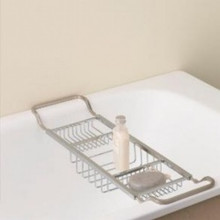 Valsan Essentials 53413CR Adjustable Bathtub Caddy - Rack - Chrome