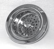 Trim To The Trade 4T-231-2 Post Style Basket Strainer for Kitchen Sink - Polished Brass PVD