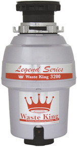 Waste King L-3200 3/4 HP Continuous Feed Garbage Disposal  - Easy Mount