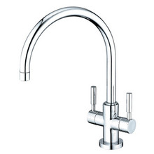 Kingston Brass Two Handle Singe Hole Kitchen Faucet - Polished Chrome