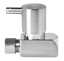 Mountain Plumbing MT5120L-NL/BRN Lever Handle Straight Valve -  Brushed Nickel
