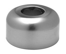 Mountain Plumbing MT313X BRN High Box P-Trap & Flange - Brushed Nickel
