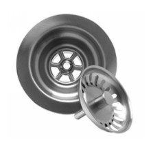 Mountain Plumbing MT300 BRS Kitchen Sink Basket Strainer - Brushed Stainless