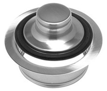 Mountain Plumbing MT204 PS Waste Disposer Stopper & Flange - Polished Stainless
