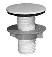 Mountain Plumbing BTAPS50 IW Sink Hole Cover - Ice White