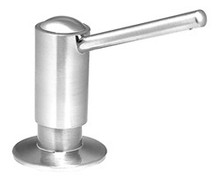 Mountain Plumbing MT100 BRN Soap/Lotion Dispenser - Brushed Nickel