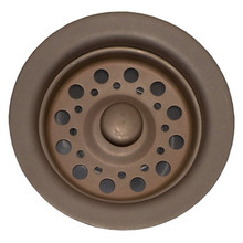 Opella 90088.957 Disposer Basket Strainer & Flange Drain Assembly - Oil Rubbed Bronze