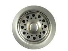Opella 90088.046 Disposer Basket Strainer & Flange Drain Assembly - Brushed Stainless