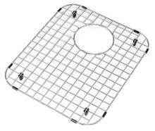 "Hamat  14 1/2"" x 17 1/4"" Bottom Grid / Wire Grate for Sink - Stainless Steel"