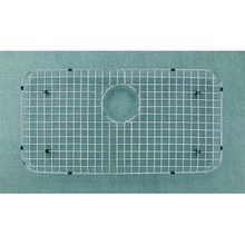"Houzer WireCraft BG-3600 27"" x 13-7/8"" Bottom Grid for Sink- Stainless Steel"