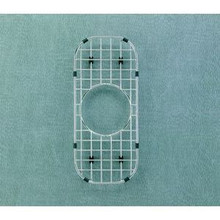 "Hamat  6 1/4"" x 14 5/8"" Bottom Grid / Wire Grate for Sink - Stainless Steel"
